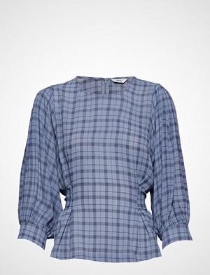 Envii bluse, Ensoho 3/4 Top Aop 6622 Bluse Langermet Blå ENVII