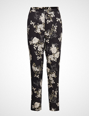 Rosemunde bukse, Trousers Bukser Med Rette Ben Svart Rosemunde