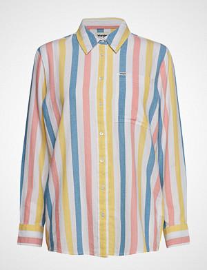 Wrangler skjorte, Deck Chair Stripe Langermet Skjorte Multi/mønstret WRANGLER