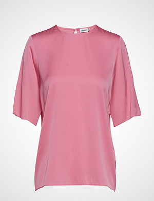 Filippa K T-skjorte, Silk Tee T-shirts & Tops Short-sleeved Rosa FILIPPA K