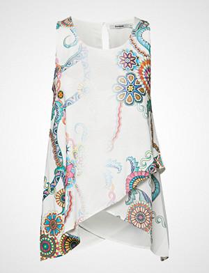 Desigual singlet, Ts Arkansas T-shirts & Tops Sleeveless Hvit DESIGUAL