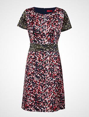 HUGO kjole, Kalila-1 Knelang Kjole Multi/mønstret HUGO