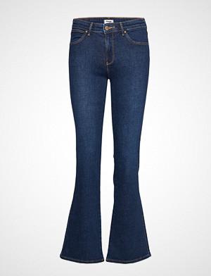 Wrangler bukse, Bootcut Jeans Sleng Blå WRANGLER