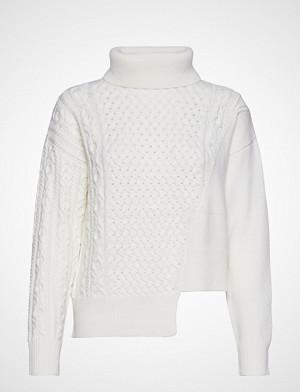 HUGO genser, Slanty Høyhalset Pologenser Hvit HUGO