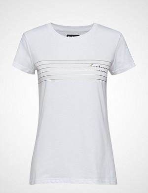 Barbour T-skjorte, B.Intl Cortina Tee T-shirts & Tops Short-sleeved Hvit BARBOUR