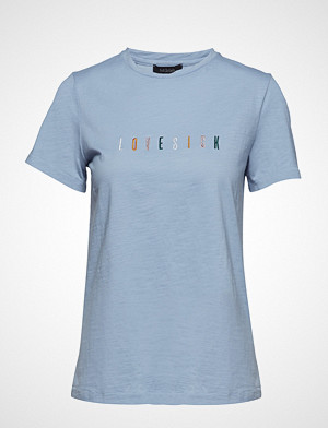 Soft Rebels T-skjorte, Lovesick T-Shirt T-shirts & Tops Short-sleeved Blå SOFT REBELS