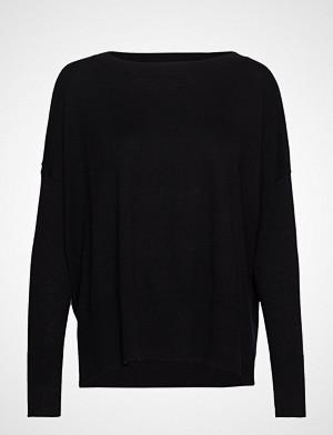 Nanso genser, Ladies Knit Sweater, Villis Strikket Genser Svart NANSO
