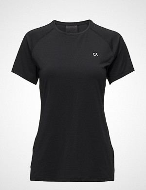 Calvin Klein Performance T-skjorte, Ss Tee T-shirts & Tops Short-sleeved Svart CALVIN KLEIN PERFORMANCE