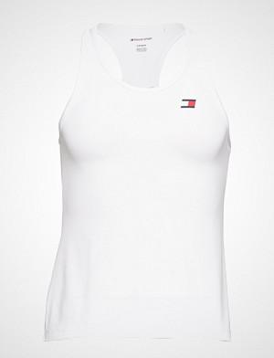 Tommy Sport singlet, Tank Top Back Logo T-shirts & Tops Sleeveless Hvit TOMMY SPORT