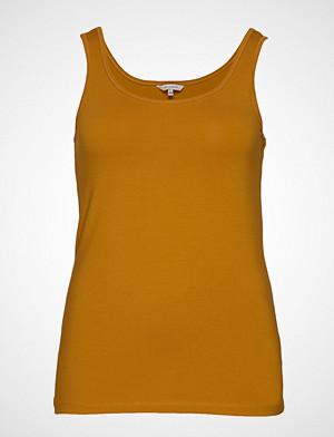 Only Carmakoma singlet, Cartime Tank Top Ess T-shirts & Tops Sleeveless Gul ONLY CARMAKOMA