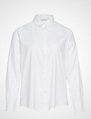 Violeta by Mango skjorte, Oxford Shirt Langermet Skjorte Hvit VIOLETA BY MANGO