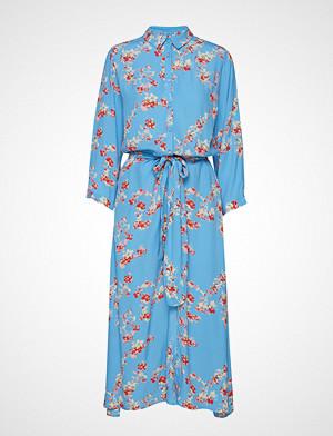 Lollys Laundry kjole, Nicole Dress Knelang Kjole Blå LOLLYS LAUNDRY