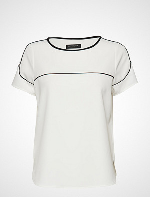 Bruuns Bazaar T-skjorte, Ruby Elna Tee T-shirts & Tops Short-sleeved Hvit BRUUNS BAZAAR