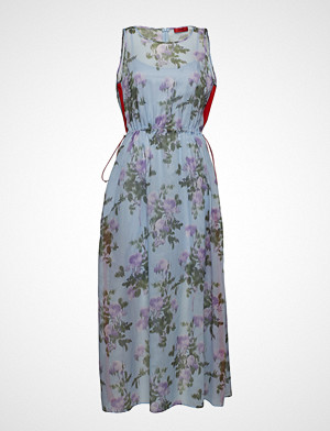 HUGO kjole, Kalanis Knelang Kjole Multi/mønstret HUGO