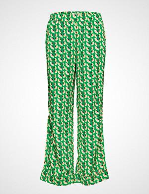 Lollys Laundry bukse, Gipsy Pants Vide Bukser Grønn LOLLYS LAUNDRY