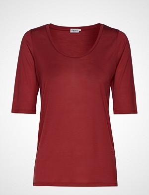 Filippa K T-skjorte, Tencel Scoop-Neck Tee T-shirts & Tops Short-sleeved Rød FILIPPA K