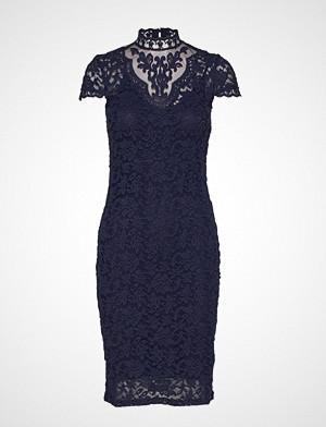 Dress Knelang Kjole Blå ROSEMUNDE