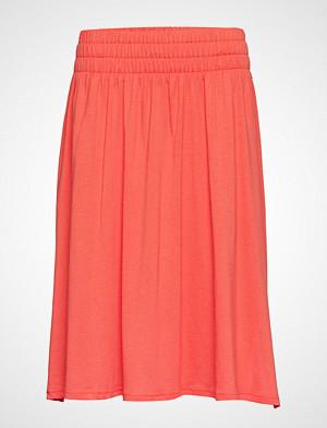 Lexington Clothing skjørt, Jenni Jersey Skirt Knelangt Skjørt Oransje Lexington Clothing