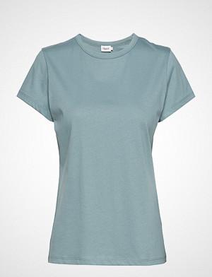 Filippa K T-skjorte, Flared Cap Sleeve T-Shirt T-shirts & Tops Short-sleeved Blå FILIPPA K