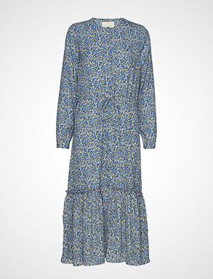 Lollys Laundry kjole, Anastacia Dress Knelang Kjole Blå LOLLYS LAUNDRY