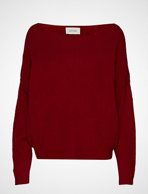 American Vintage genser, Damsville Strikket Genser Rød AMERICAN VINTAGE