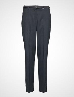 Esprit Collection bukse, Pants Woven Bukser Med Rette Ben Blå ESPRIT COLLECTION