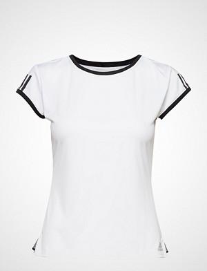 adidas Tennis T-skjorte, Club 3 Stripes Tee W T-shirts & Tops Short-sleeved Hvit ADIDAS TENNIS
