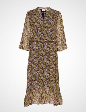 Saint Tropez kjole, U6008, Woven Dress Below Knee Knelang Kjole Multi/mønstret SAINT TROPEZ