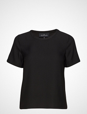 DESIGNERS, REMIX T-skjorte, Poppy Tee T-shirts & Tops Short-sleeved Svart DESIGNERS, REMIX