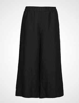 Marimekko bukse, Tuulelma Solid Trousers Vide Bukser Svart MARIMEKKO