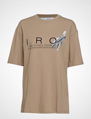 Iro T-skjorte, Olcott T-shirts & Tops Short-sleeved Beige IRO