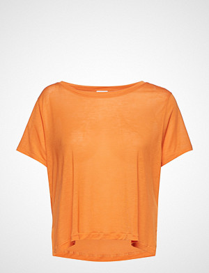 Hope T-skjorte, Box Tee T-shirts & Tops Short-sleeved Oransje HOPE
