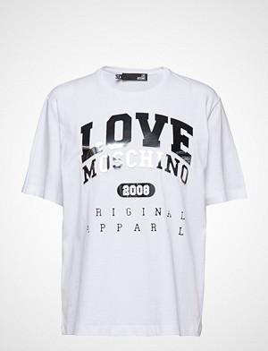 Love Moschino T-skjorte, Love Moschino T-shirts & Tops Short-sleeved Hvit LOVE MOSCHINO