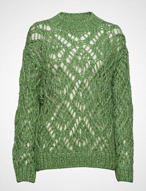 Stine Goya genser, Alex, 585 Alex Knit Strikket Genser Grønn STINE GOYA