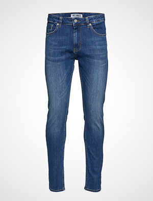Just Junkies collegegenser, Sicko W1901 Slim Jeans Blå JUST JUNKIES