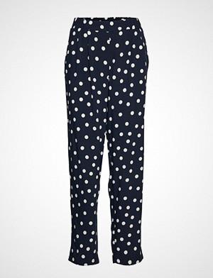 Betty Barclay bukse, Pants Casual 1/1 Length Bukser Med Rette Ben Blå BETTY BARCLAY