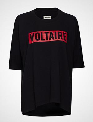 Zadig & Voltaire T-skjorte, Portland Voltaire T-shirts & Tops Short-sleeved Svart ZADIG & VOLTAIRE