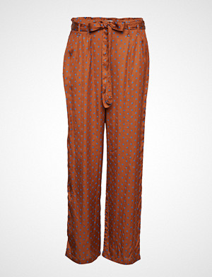 Lollys Laundry bukse, Aila Pants Vide Bukser Brun LOLLYS LAUNDRY