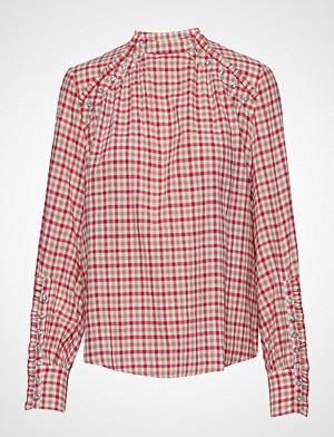 Munthe skjorte, Nola Langermet Skjorte Rød MUNTHE