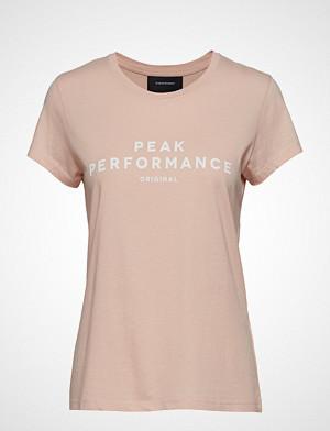 Peak Performance T-skjorte, W Orig Tee T-shirts & Tops Short-sleeved Rosa PEAK PERFORMANCE