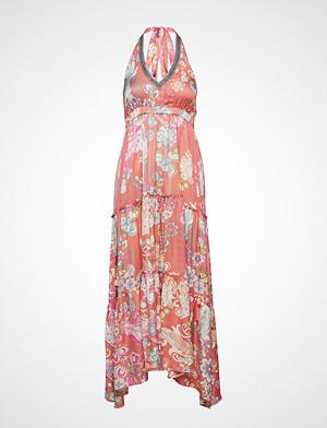 Odd Molly kjole, Wonderland Halter Neck Dress Maxikjole Festkjole Rosa ODD MOLLY