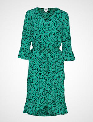 Saint Tropez kjole, U6006, Woven Dress Below Knee Knelang Kjole Grønn SAINT TROPEZ