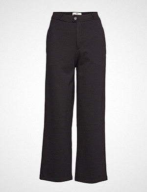 Lexington Clothing bukse, Cleo Tailored Jersey Pants Vide Bukser Svart LEXINGTON CLOTHING