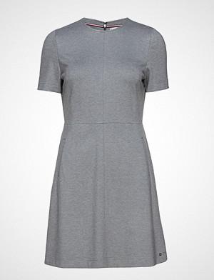 Tommy Hilfiger kjole, Arielle Dress Kort Kjole Grå TOMMY HILFIGER