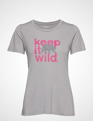 Columbia T-skjorte, Outdoor Elements™ Iii Tee T-shirts & Tops Short-sleeved Grå Columbia