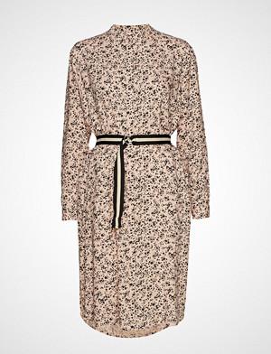 Saint Tropez kjole, U6029, Woven Shirt Dress Under K. L Knelang Kjole Beige SAINT TROPEZ