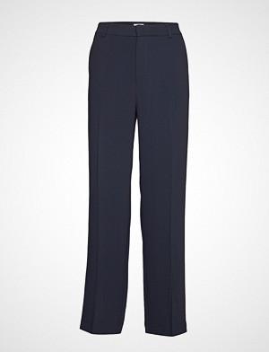 Filippa K bukse, Hutton Crepe Trouser Bukser Med Rette Ben Blå FILIPPA K
