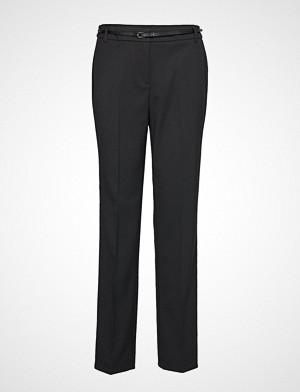 Esprit Collection bukse, Pants Woven Bukser Med Rette Ben Svart ESPRIT COLLECTION