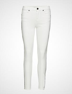 Pieszak jeans, Diva Cropped Deco Ecru Skinny Jeans Hvit PIESZAK