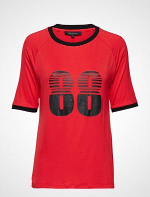 Soft Rebels T-skjorte, Asta T-Shirt T-shirts & Tops Short-sleeved Rød SOFT REBELS
